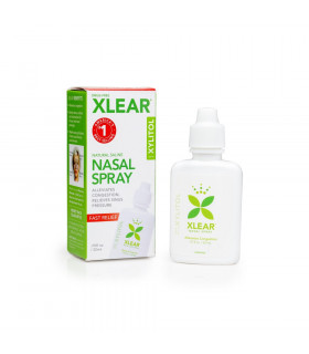 Xylitol and Saline Nasal Spray